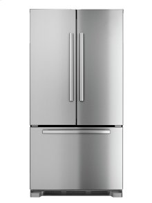 """Serie  6 36"""" Counter-Depth French Door Bottom-Freezer 800 Series - Stainless Steel B22CT80SNS"""