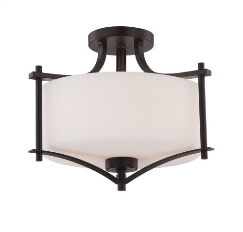 Colton 2 Light Semi-Flush