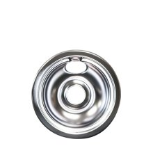 Smart Choice 6'' Chrome Drip Pan