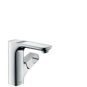 Chrome Single lever basin mixer 130 with pop-up waste set