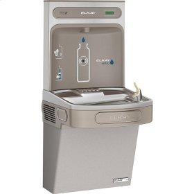 Elkay EZH2O Bottle Filling Station & Single ADA Cooler, High Efficiency Non-Filtered 8 GPH Light Gray