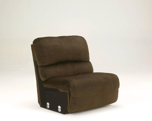 5-Piece Reclining Sectional with LAF Recliner