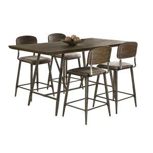 Adams 5-piece Counter Height Dining Set