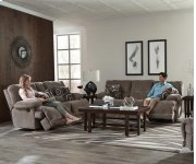 Reclining Console Loveseat w/Storage and Cupholders Product Image