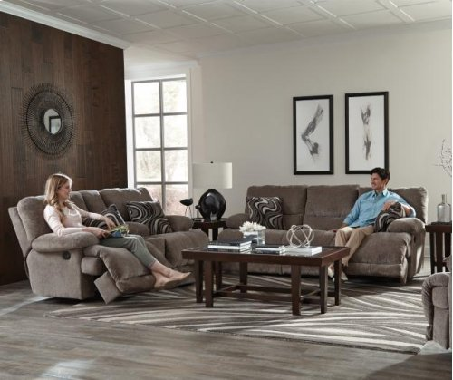 Power Reclining Console Loveseat w/Storage and Cupholders