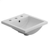 Studio Carré Countertop Bathroom Sink  American Standard - White