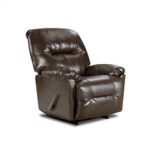 9350 - Bentley Brown Rocker Recliner