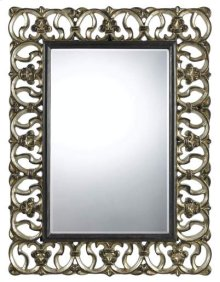 Ormond rectangular polyurethane beveled mirror