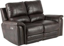 Pwr Loveseat Dual Rclnr With Usb & Pwr Hd