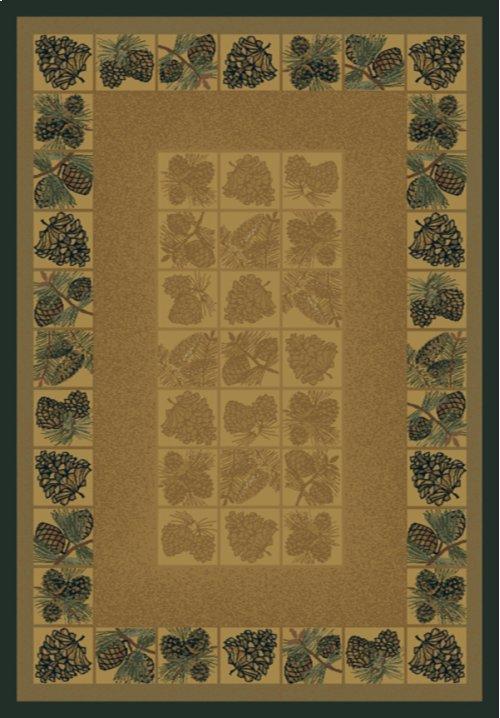 Genesis Pine Cones Natural Rugs