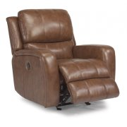Hammond Leather Power Gliding Recliner Product Image