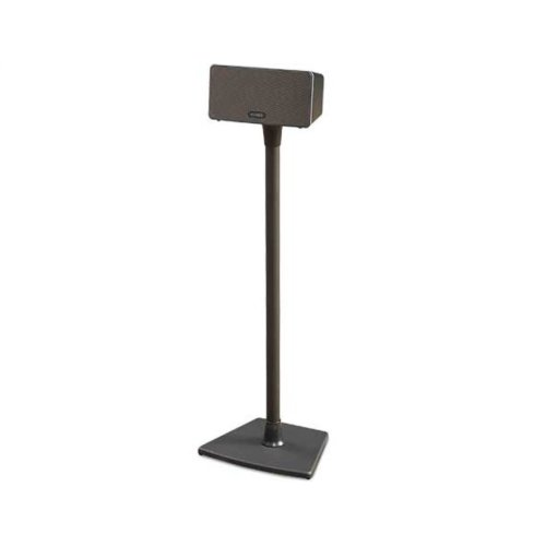 Black Wireless Speaker Stand for Sonos PLAY:1 and PLAY:3 - Single