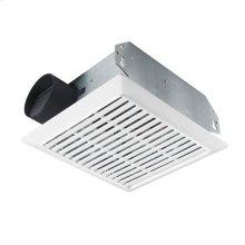70 CFM Bath Ventilation Fan with White Grille