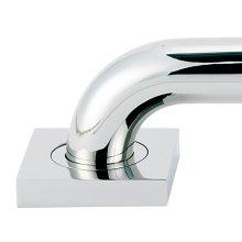 Contemporary II Grab Bar Brackets A8424 - Polished Chrome