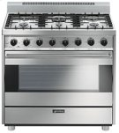 """Free-Standing Gas Range, 36"""", Stainless Steel Product Image"""