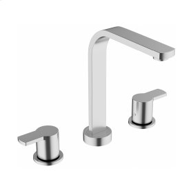 Wisp Widespread Lavatory Faucet - Stainless