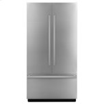 """JENN-AIRNOIR 42"""" Fully Integrated Built-In French Door Refrigerator Panel-Kit"""