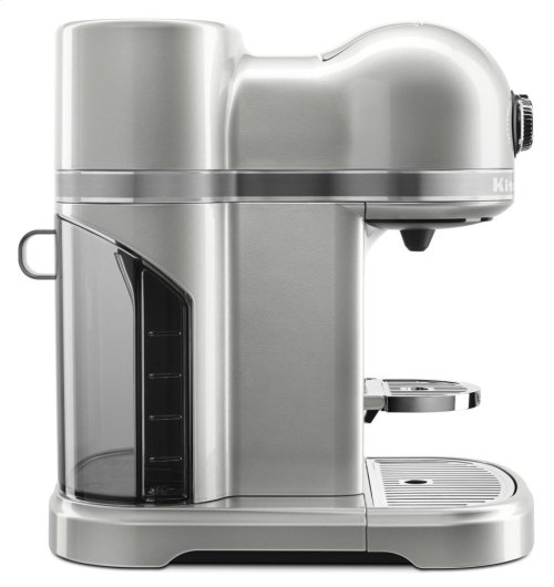 Nespresso® Espresso Maker by KitchenAid® with Milk Frother - Sugar Pearl Silver