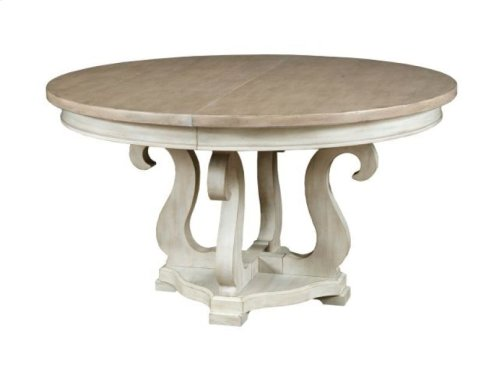 Sussex Round Dining Table Complete