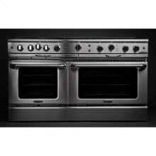 "60"" Gas Self Clean w/ Rotisserie, 8 Open Burners, 12"" Broil Burner"