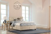 Duggan 6 Drawer Storage Bed - King - Rails Included