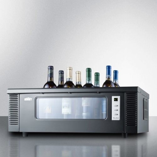 8-bottle Thermoelectric Wine Chiller for Countertop Use