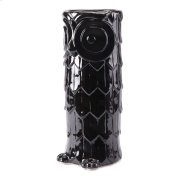 Owl Umbrella Stand Black Product Image