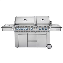 PRESTIGE PRO 825 WITH SIDE BURNER AND INFRARED REAR & BOTTOM BURNERS