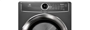 RED HOT BUY! Front Load Perfect Steam Electric Dryer with Instant Refresh and 9 cycles - 8.0 Cu. Ft.