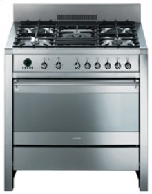 Free-Standing Dual Fuel Opera Range, 36 , Stainless Steel