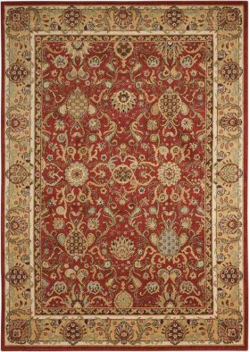 Lumiere Ki602 Brick Rectangle Rug 5'3'' X 7'5''