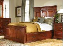 Queen Storage Mantel Bed
