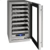 """U-Line 5 Class 18"""" Wine Captain(r) Model With Stainless Frame Finish And Field Reversible Door Swing (115 Volts / 60 Hz)"""