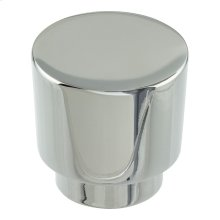 Tom Tom Knob 1 1/4 Inch - Polished Chrome