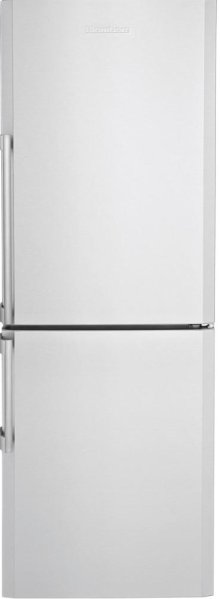 "24"" Bottom Freezer/Fridge 10,4 cuft, Led Illumination, Stainless Steel, Edge Bend Antifingerprint"