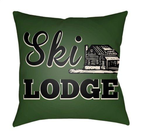 "Lodge Cabin LGCB-2043 18"" x 18"""