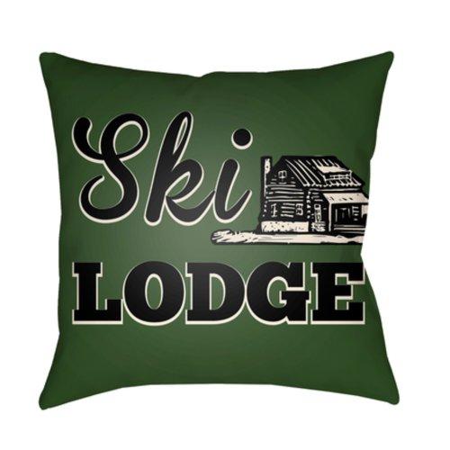 "Lodge Cabin LGCB-2043 20"" x 20"""