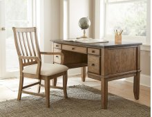 "Debby Bluestone Writing Desk 52""x28""x31"""