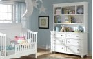 Madison Nursery Bookcase/Hutch with Dresser Product Image