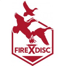 FireDisc Red Decal 3-Pack