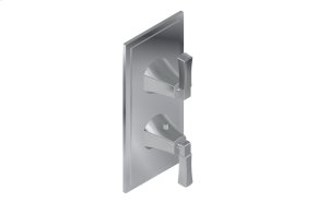Finezza DUE Thermostatic 2-Hole Trim Plate and Handle
