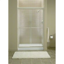 "Finesse™ Sliding Shower Door with Quick Install™ Mounting System - Height 70-5/16"", Max. Opening 45-1/2"" - Deep Bronze"