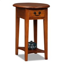 Medium Shaker Oval Side Table #9042-MED
