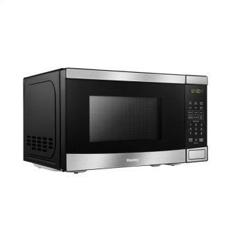 Danby 0.7 cu.ft Microwave with Stainless Steel front