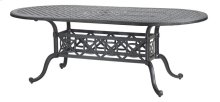 """Grand Terrace 42"""" x 86"""" Oval Dining Table"""