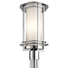 Pacific Edge Collection 1 Light Outdoor Post Mount with PSS316 finish