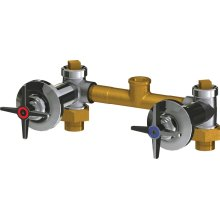 Concealed Two Handle Shower Valve Only