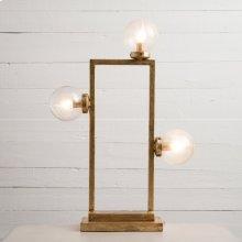 Gold Leaf Finish Clara Table Lamp