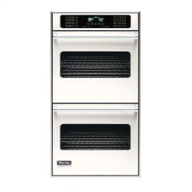 "Cotton White 27"" Double Electric Touch Control Premiere Oven - VEDO (27"" Wide Double Electric Touch Control Premiere Oven)"