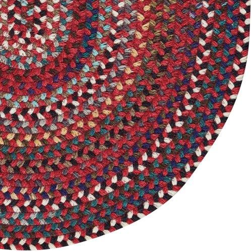 Yorktowne Red Braided Rugs (Custom)